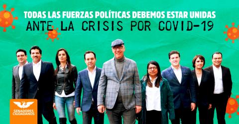Fuerzas políticas unidas por COVID19