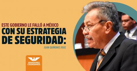 Este gobierno le falló a México con su estrategia de Seguridad